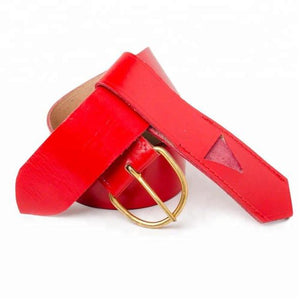 Knights Templar Belt & Frog Red - Regalialodge