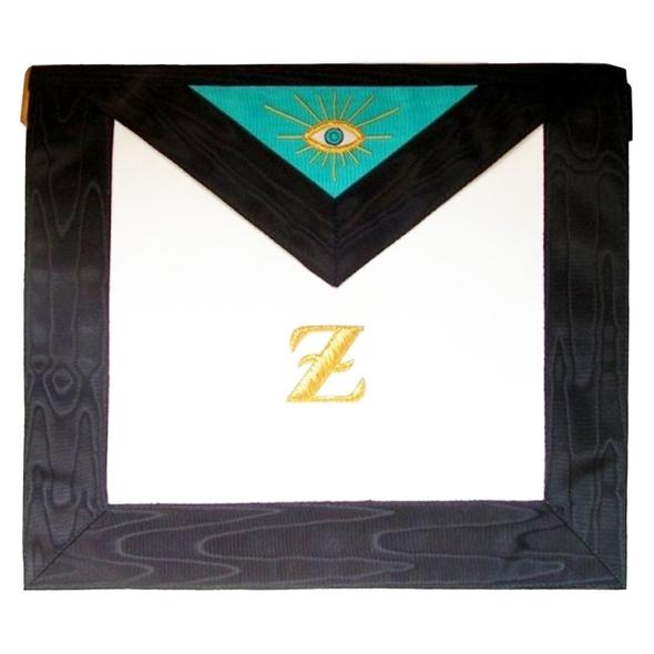 Masonic Scottish Rite Leather Masonic apron - 4th degree - AASR - Regalialodge