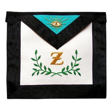 Load image into Gallery viewer, Masonic Scottish Rite Masonic apron - AASR - 4th degree - Sprig of acacia - Regalialodge