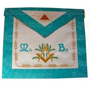 Groussier French Rite – Master Mason – Square-and-compass + green acacia + MB - Regalialodge