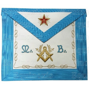 Master Mason – Groussier French Rite – Square-and-compass + Acacia + MB - Regalialodge