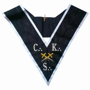 Masonic collar - AASR - 30th degree - CKS - Cross Swords - Regalialodge