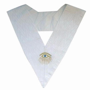 Masonic Officer's collar - ASSR - 28th degree - Eye + Rays - Regalialodge