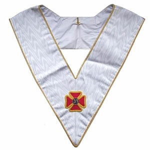 Masonic Officer's collar - AASR - 31st degree - Regalialodge