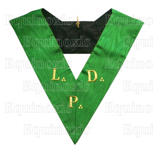 Masonic Officer's collar – French Chapter – 3rd Order – L. D. P. - Regalialodge