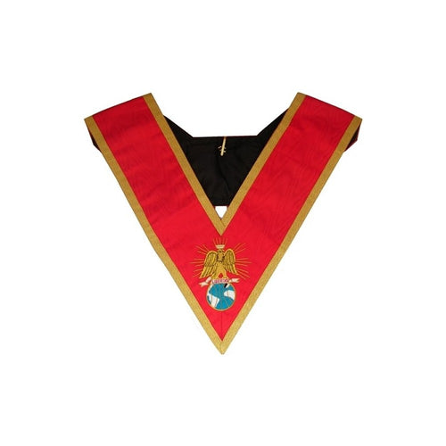 Masonic Officer's collar – French Chapter – 4th Order – Libertas - Regalialodge