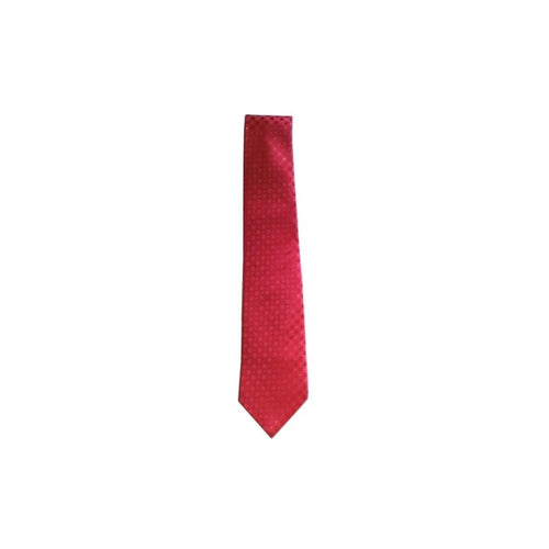 Microfiber necktie – Red with motifs - Regalialodge