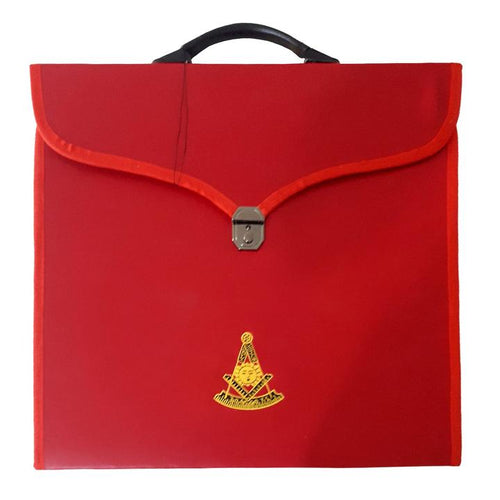Masonic MM/WM and Provincial Full Dress Past Master Red Cases II - Regalialodge