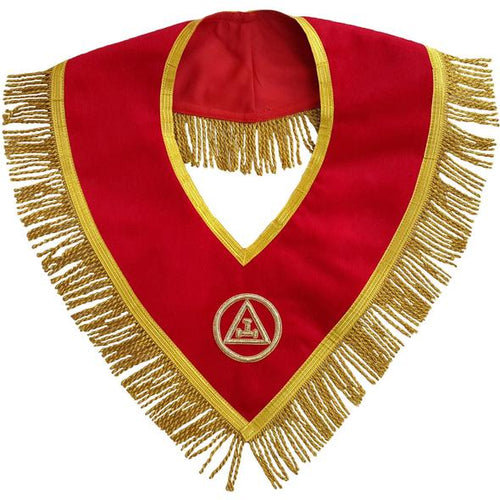 Masonic Royal Arch Mason Member Collar Hand Embroidered - Regalialodge