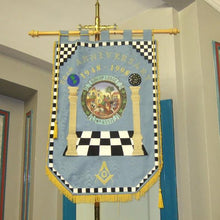 Load image into Gallery viewer, Machine Made Embroidery Masonic Banners - Regalialodge
