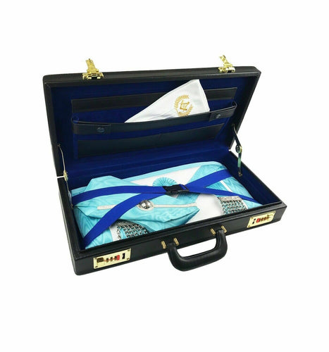 Masonic Regalia Half apron hard Case mason Apron Hard Brief Case - Regalialodge