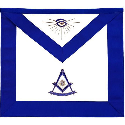 Masonic Blue Lodge Past Master Apron - Regalialodge