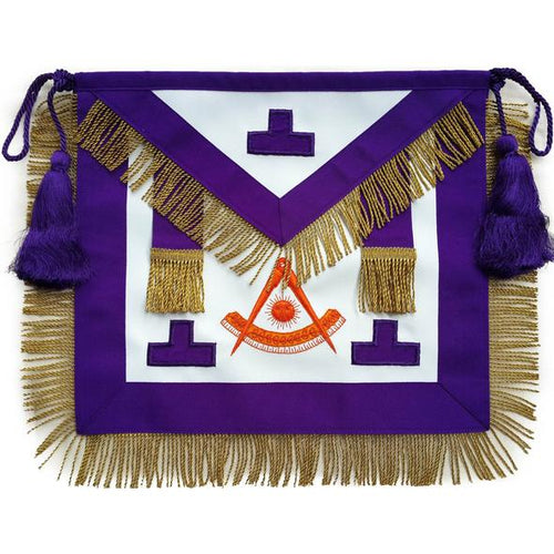 Masonic Past Master Apron Puerto Rico Hand Embroidered - Regalialodge