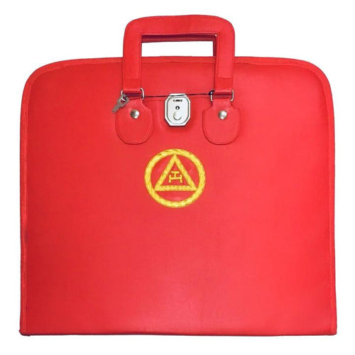 Masonic Royal Arch MM/WM and Provincial Full Dress Apron Cases Bullion Embroidery - Regalialodge
