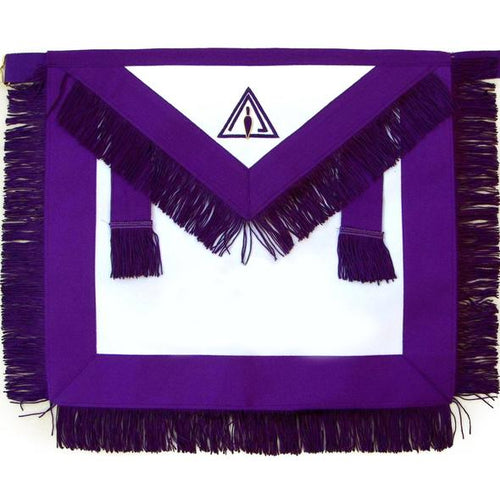 Masonic Royal & Select Master RSM Council Member Apron - Regalialodge