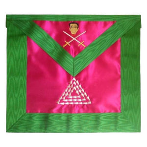 Masonic Scottish Rite Satin apron - AASR - 15th degree - Regalialodge
