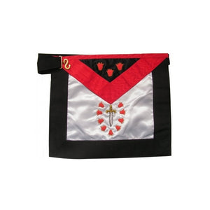 Satin Masonic apron – French Chapter – 1st Order - Regalialodge