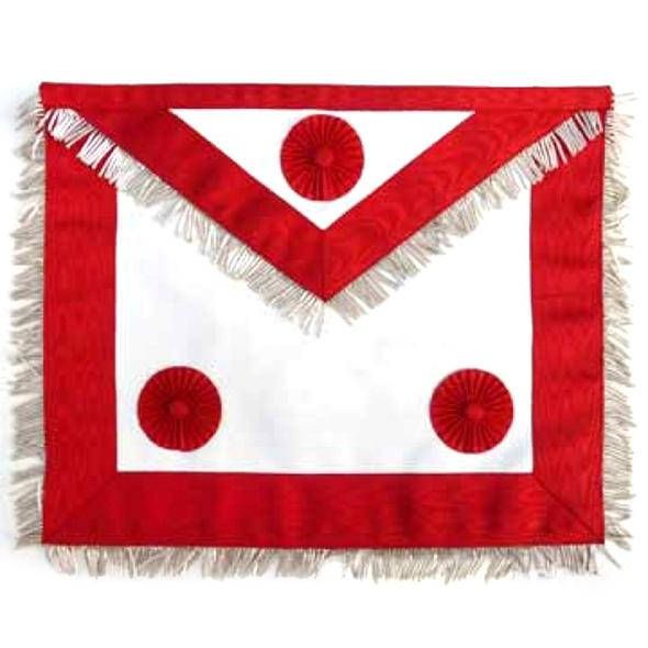 Masonic Scottish Rite AASR Honor Master Leather Apron - Regalialodge
