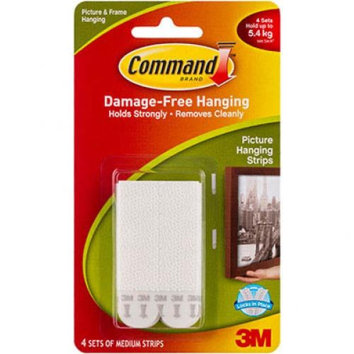 Command picture hanging strips - medium