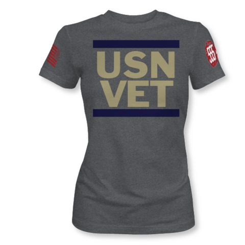 Image of U.S.N. VET Tee - Womens