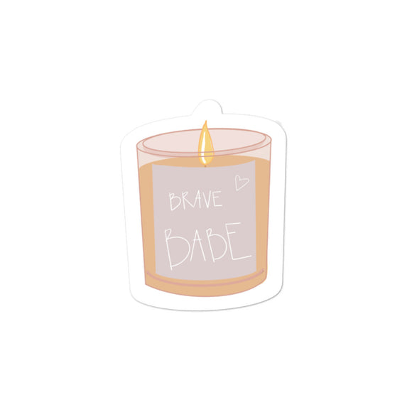 Brave Babe | Sticker