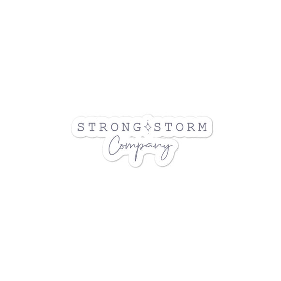 You are Stronger than the Storm | Sticker