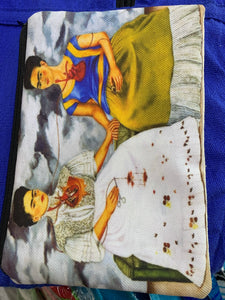 Frida make up purse