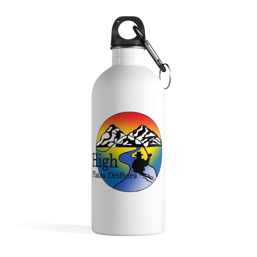 HPD Classic logo - 14oz Stainless Steel Water Bottle