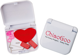 "ChiaoGoo TWIST Red Lace 5"" Interchangeable Needles - Complete"