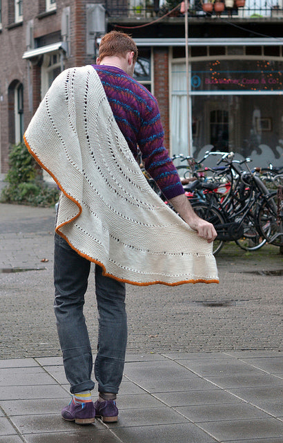 Glacier Sweep by Stephen West /Hardcopy with Ravelry Download