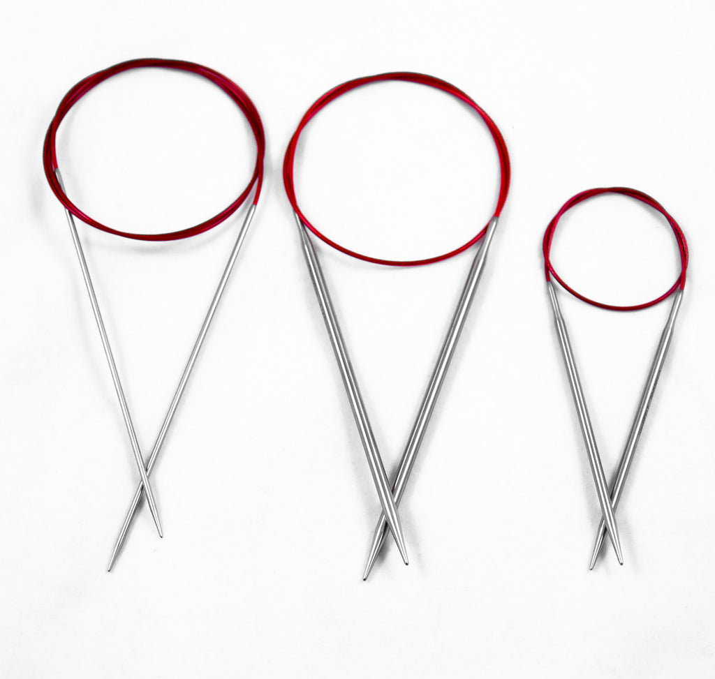 ChiaoGoo Red Lace - Premium Stainless Steel Circular Needles