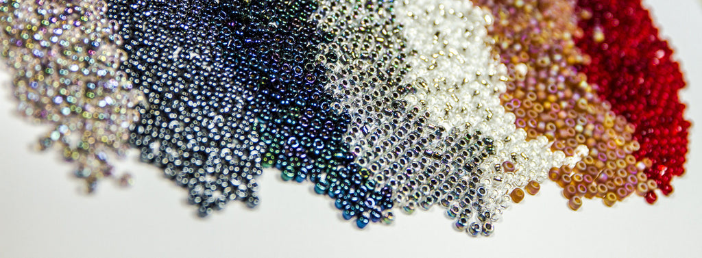 Japanese Seed Beads 6/0 - Transparent Rainbow Peacock