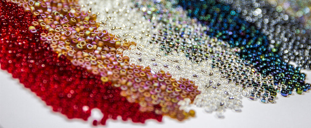 Japanese Seed Beads 6/0 - Transparent Ruby Red