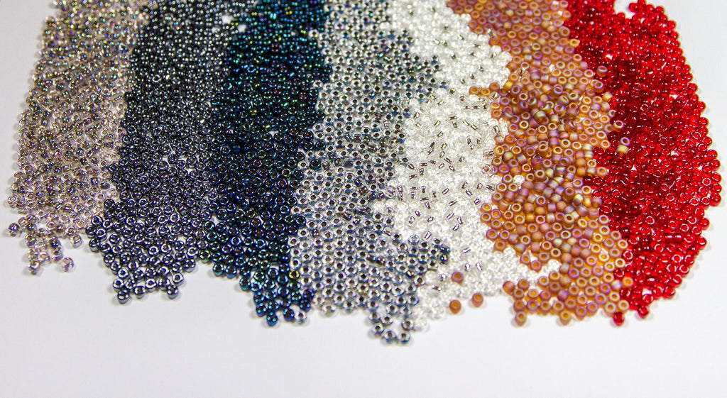 Japanese Seed Beads 6/0 - Transparent Rainbow Lilac