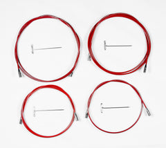 ChiaoGoo Cable with Key for TWIST Red Lace Interchangeable Knitting Needle Sets