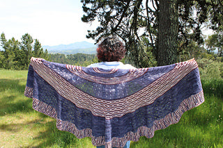 The Mad Bee Shawl By Afifa   Kit #2