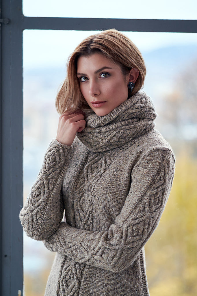 Oydis Cowl by Linda Marveng