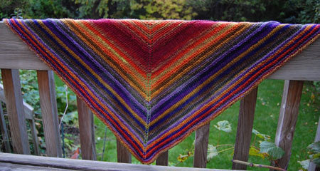 Simple Yet Effective Shawl by Laura Chau