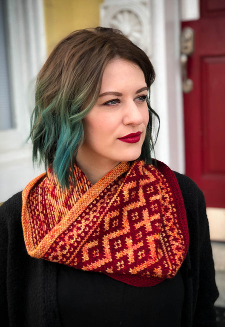Chickaloon Cowl by Tanis Gray