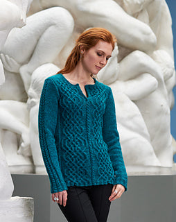 Corra Sweater by Linda Marveng