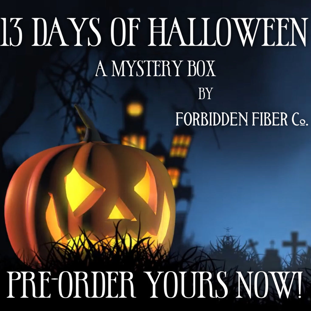 13 Days of Halloween Mystery Box