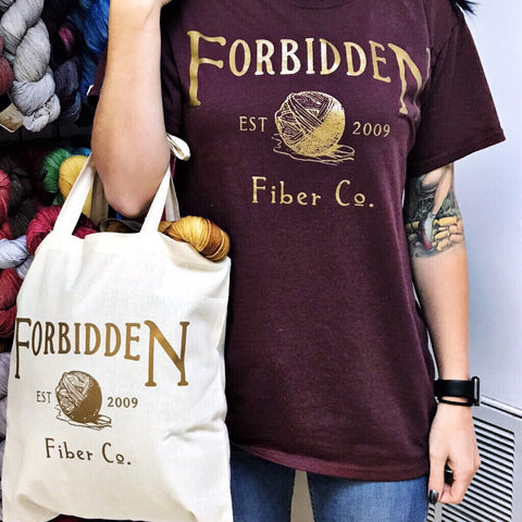 Forbidden Fiber Co. T-shirt
