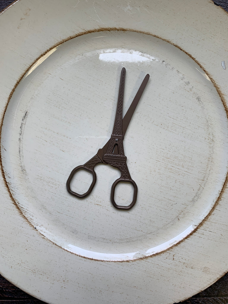 "5.5"" Scissors - Eiffel Tower Embroidery Scissors"
