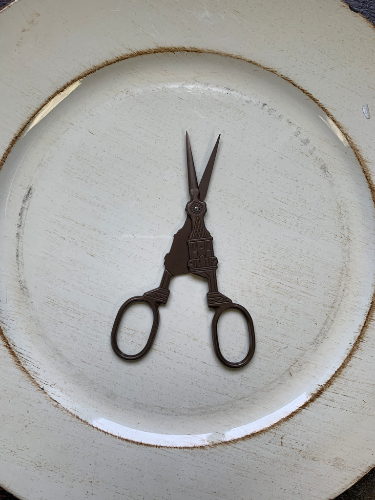 "5.5"" Scissors - Big Ben Bell Clock Tower Embroidery Scissors"