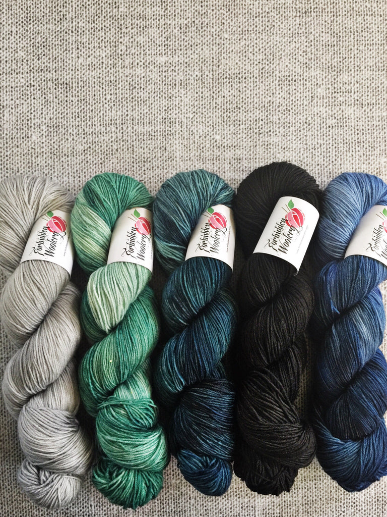 Five Skein Kits - Iguana