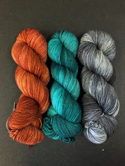 Fiber Fun in the Sip MKAL/MCAL Kits - Fall Colors