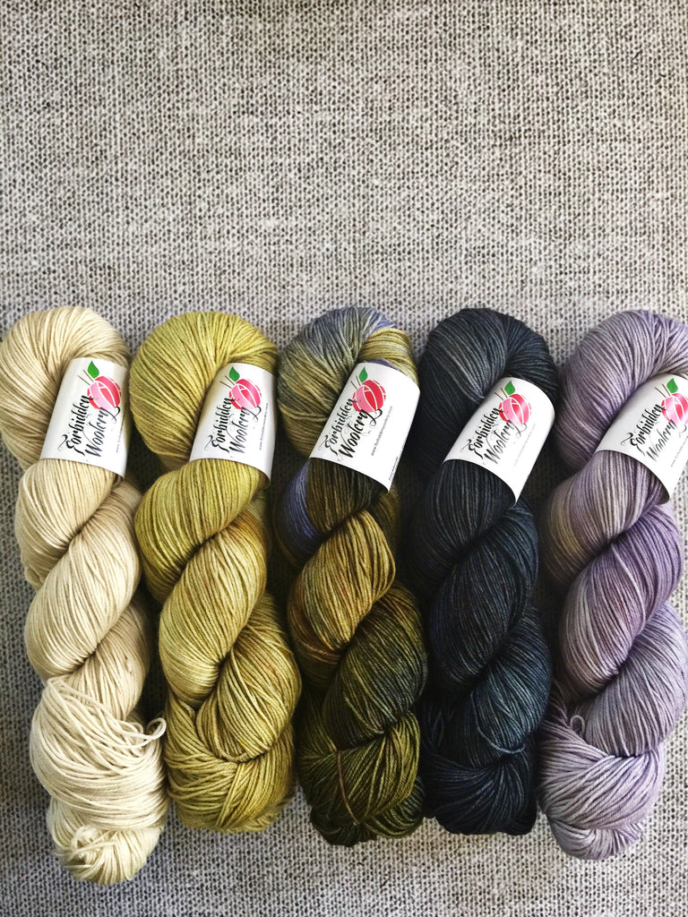Five Skein Kits - Steampunk Love