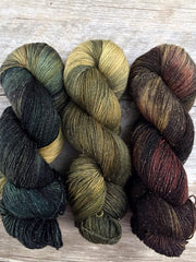 Three Color Yarn Kits - Steampunk Christmas