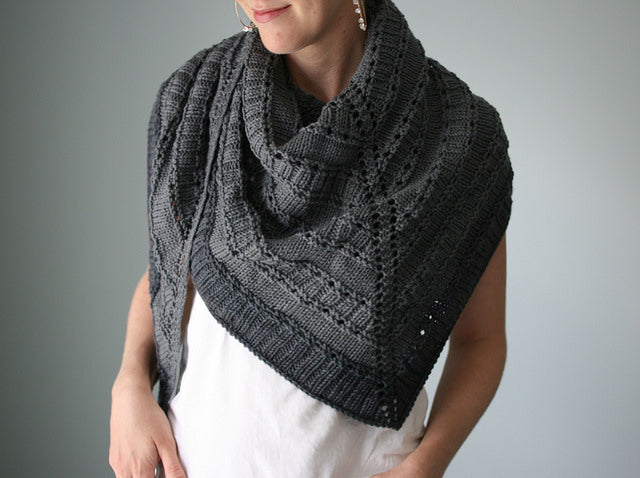 Naos Shawl by Hilary Smith Callis