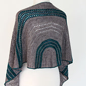 Talara Shawl by Ambah O'Brien